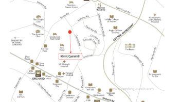 Klimt Cairnhill Location Map Singapore