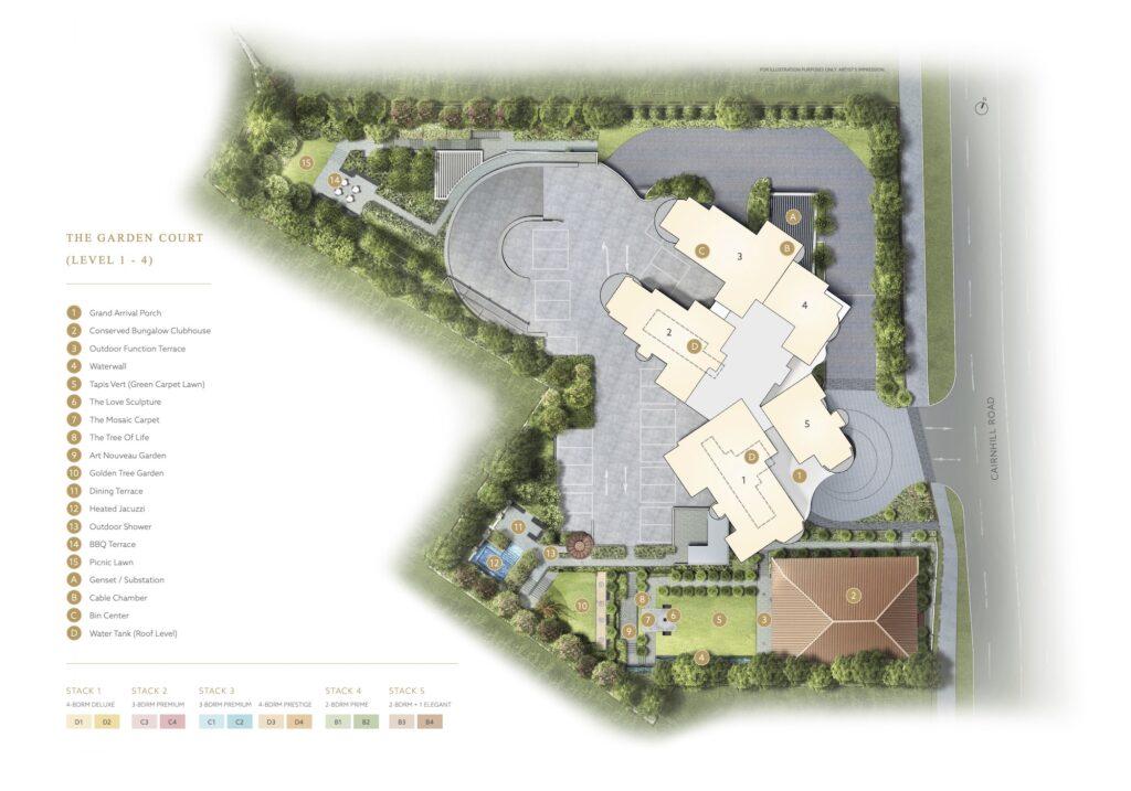 Klimt Cairnhill Site Plan 1