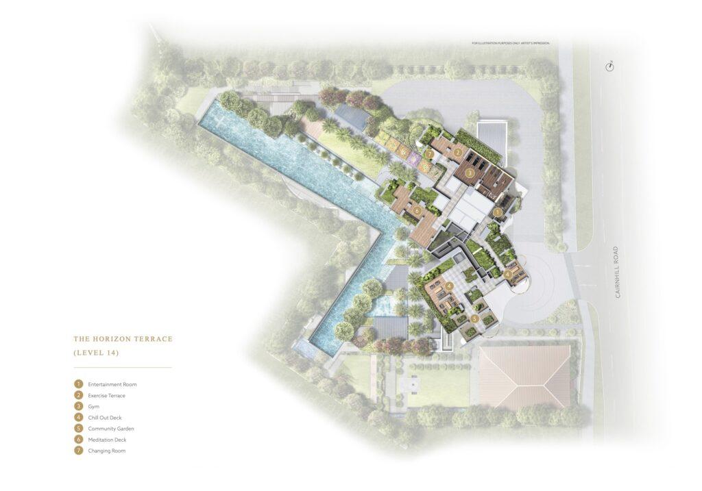 Klimt Cairnhill Site Plan 3